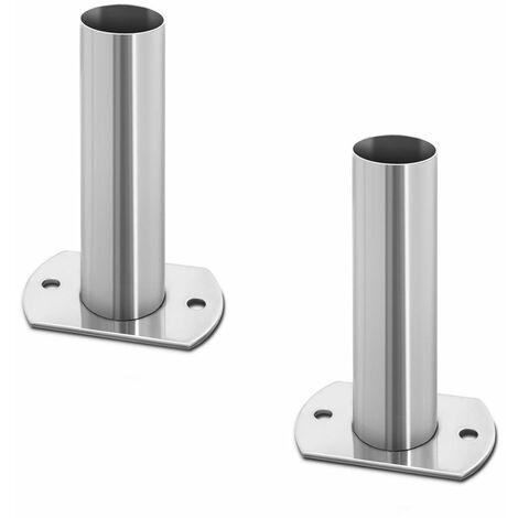 Set De Montaje Para Escalera Piscina Accesorios Fijación Escalerilla Inox. Ø40mm