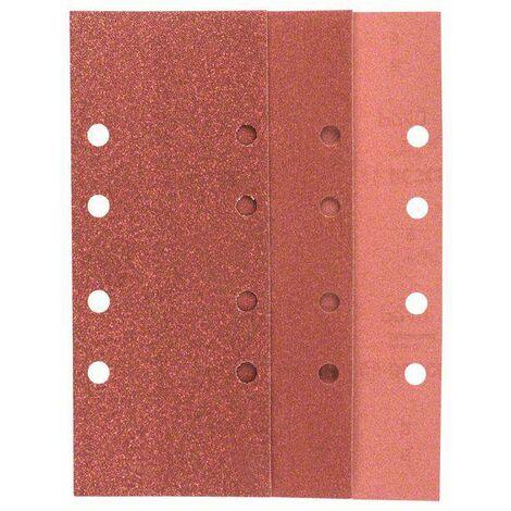 Set de papiers abrasifs pour ponceuse vibrante perforé Bosch Accessories 2607019499 Grain 60, 80, 120, 240 (L x l) 230 mm x 93 mm 1 set C90474