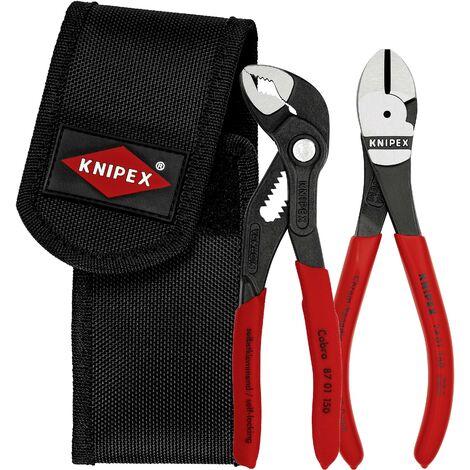 Set de pinces avec étui pour ceinture, 2 pcs Knipex 00 20 72 V02 V765701