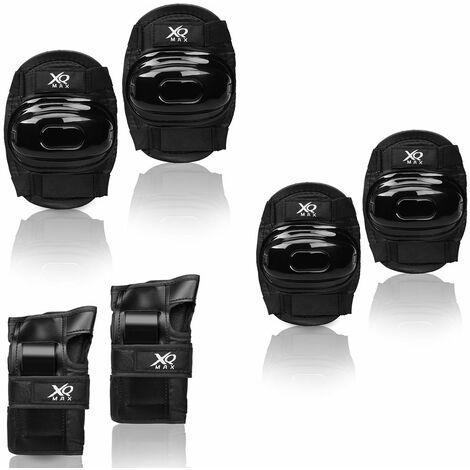 Set de protecteurs genouillères coudières protège-poignets enfants Taille L ou M pour skateboard vélo roller