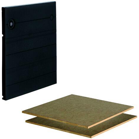Set de puerta con baldas Wolfcraft 6783000