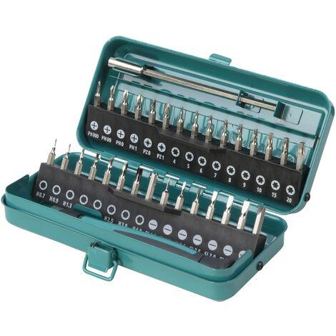 Set de puntas MICROPUNTAS precisión 32 piezas - Wolfcraft - 1389000