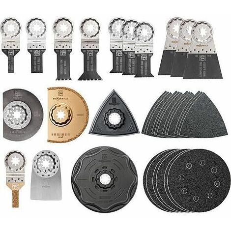 Set de renovation FEIN 34 accessoires, Starlock Plus