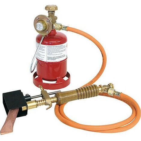 """Set de soudage a l'etain propane (Tuyau 3/8""""LH x 3/8""""LH)"""