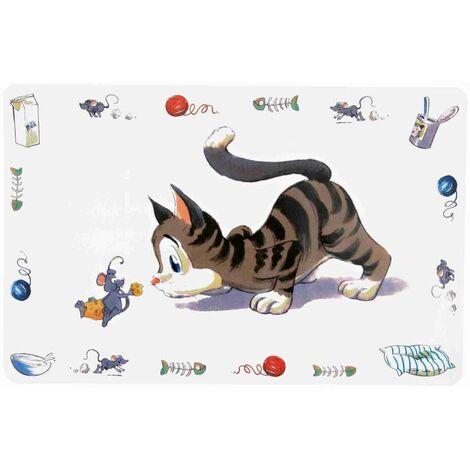 Set de table comic cat - 44 × 28 cm