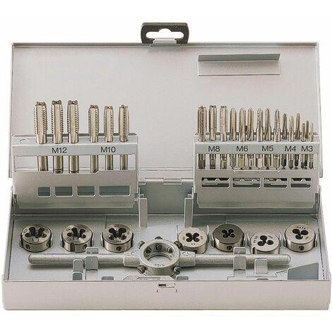 Set de tarauds et filières 30pcs MW-Tools SKC30ETM