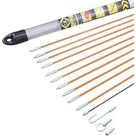 Set de tiges pour tire-câble Mighty-Rod, 10 mètres C.K. T5410