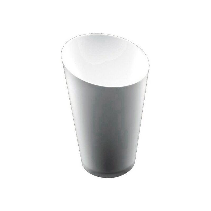 Set De Vasos Goldplast Plástico Blanco 75 Ml 25 Piezas Ø 5 Cm