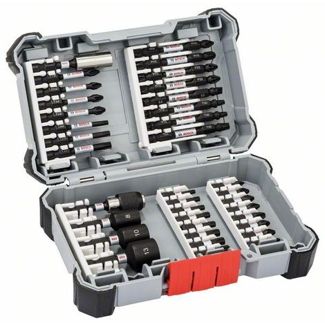 Bosch Embouts de vissage Impact Control, set de 36 pièces - 2608522365
