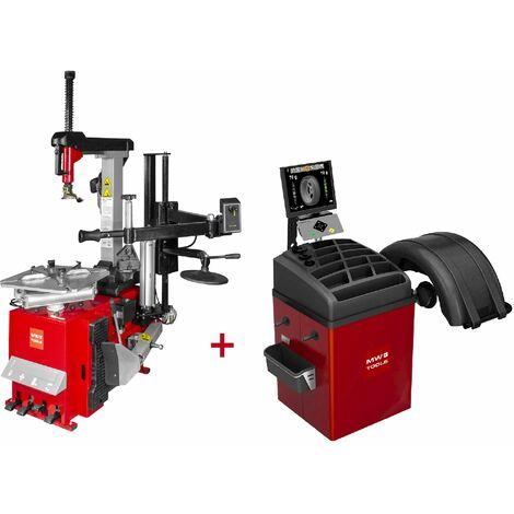 Set démonte-pneu BT300H + équilibreuse de roues BB400 MW-Tools BT300H SET4