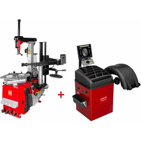 Set démonte-pneu BT300HM + équilibreuse de roues BB400 MW-Tools BT300HM SET4