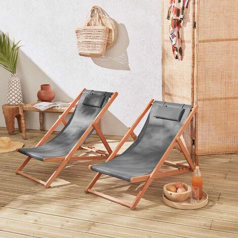Lettini E Chaise Longue Arredamento Giardino.Lettino Relax Relax Poltrona Pieghevole Lugano Antracite Antracite