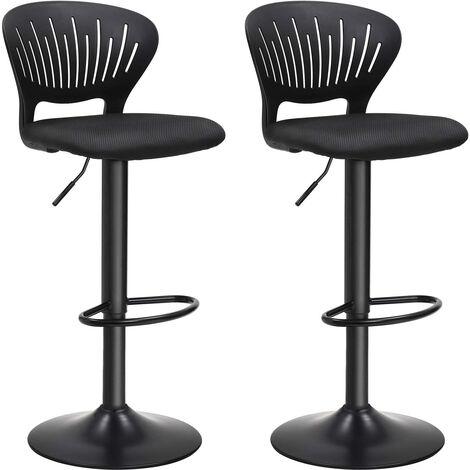 La sedia spagnola Sgabello con sedile rotondo Bianco 40/x 55/x 83/cm pelle sintetica