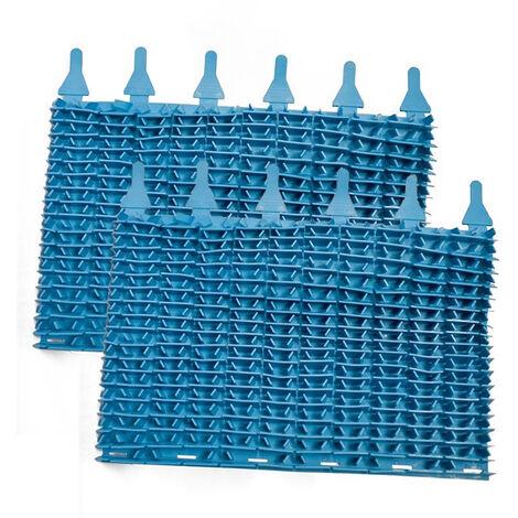 """main image of """"set di 2 spazzole a lama blu per robot indaco - w1585a - zodiac"""""""