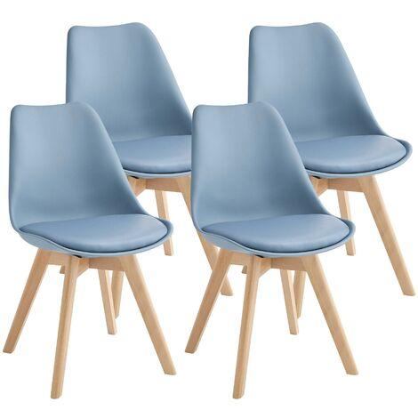 Set 4 sedie imbottite al miglior prezzo