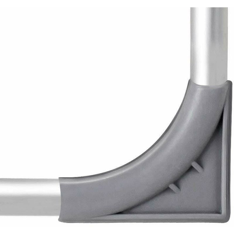 Sedie Sdraio Alluminio Con Poggiapiedi.Set Di 4 Sedie Sdraio In Alluminio Con Schienale Alto E