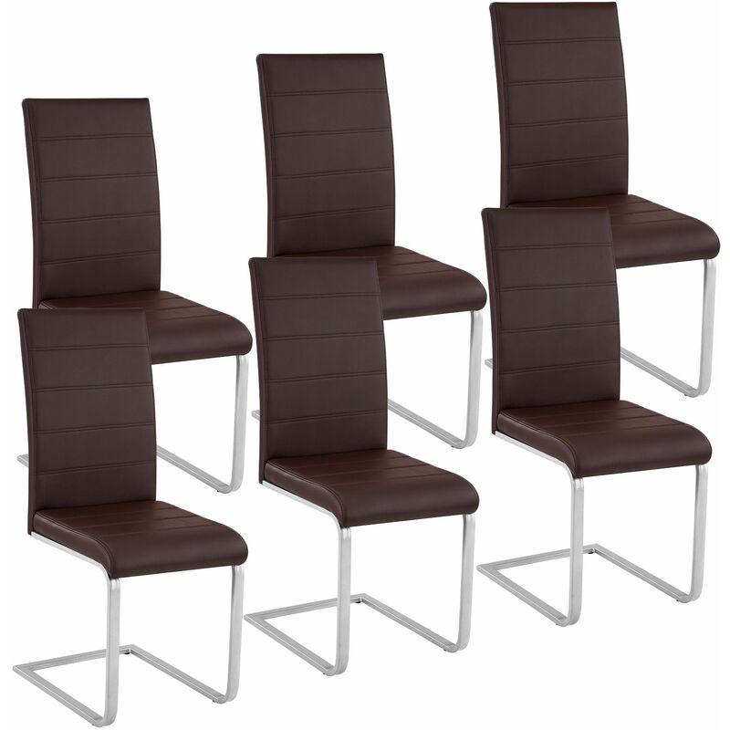 Set di 6 sedie per sala da pranzo Bettina - sedie moderne ...