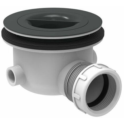 Set di scarico standard ideale 90 mm senza coperchio, parti a vista in grigio - K936367