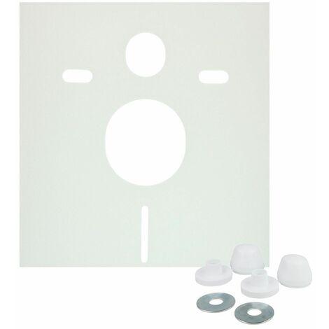 Set d´insonorisation, WC mural, Premium