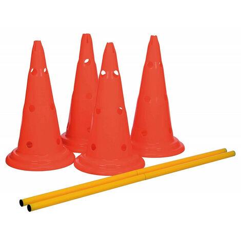set d'obstacles pour chien - 4 cône - agility
