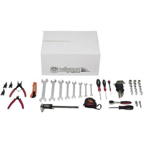 Set d'outils (10 pièces) pour imprimante 3D Velleman Vertex Y297331