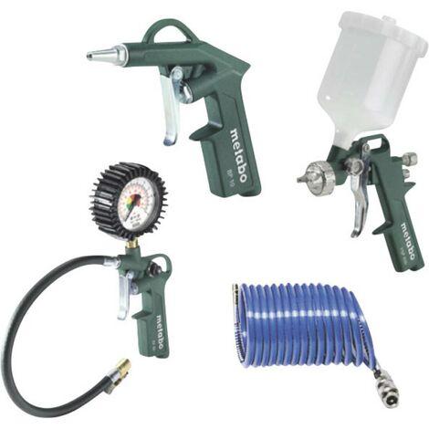 Set d'outils à air comprimé METABOLPZ04 SET — 4 éléments — 6.01585.00