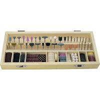 Set d'outils à fraiser-meuler-polir C92370