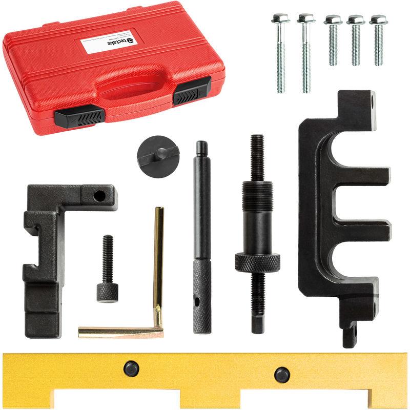 Tectake - Coffret d'outils de Calage Distribution Moteur BMW N42 / N46 Essence 1.8 et 2.0