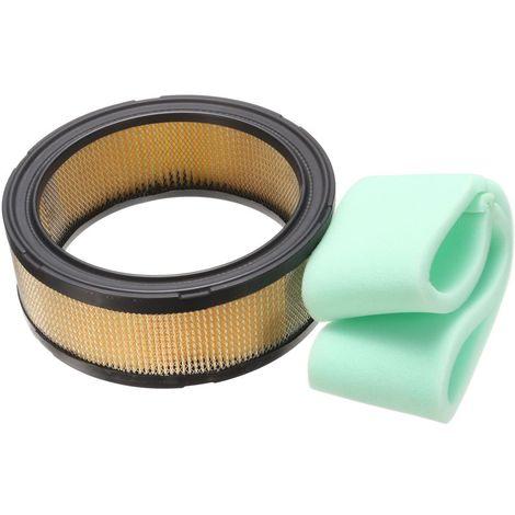 """main image of """"Set éponge ronde pour filtre à air et préfiltre Pour Kohler John Deere 47 083 03-S1/M47494 US"""""""