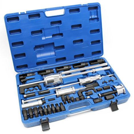 Set extractores para inyectores CDI 40 piezas Extracción inyectores motores diesel Taller mecánico
