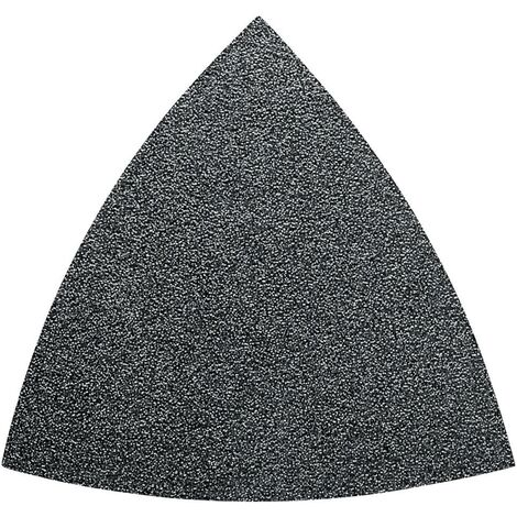 Set feuilles abrasives Delta avec bande auto-agrippante, non perforé Fein 63717082033 Grain 60, 80, 120, 180, 240 Cote d'encoignure 80 mm 50 pc(s) C56542