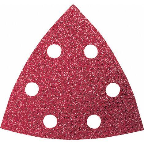 Set feuilles abrasives Delta perforé Bosch Accessories 2609256957 Grain 60, 80, 120, 180, 240 Cote d'encoignure 93 mm 1 set C96076
