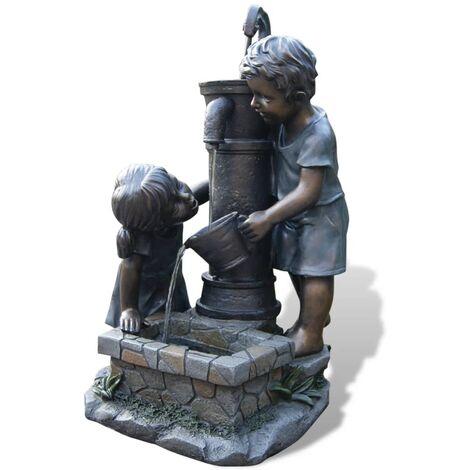 Set fuente de agua para jard n ubbink atlanta 1387016 for Fuentes de agua de jardin