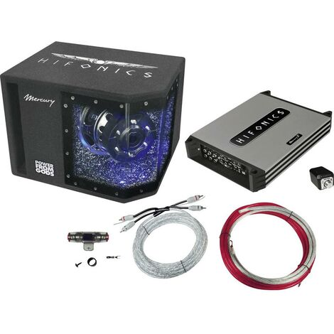 set Hi-Fi pour voiture Hifonics MBP1000 4