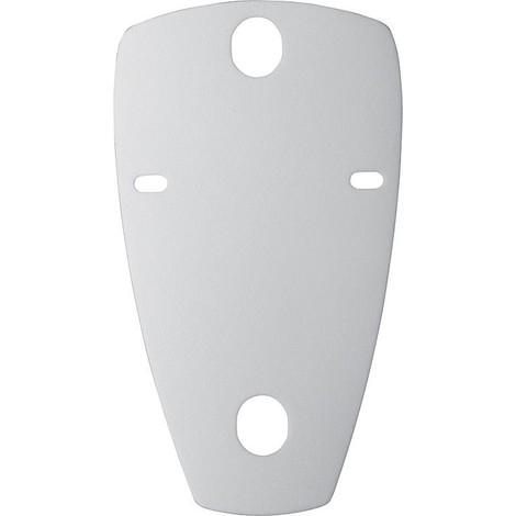 Set isolation acoustique urinoir RG 70/5 mm - blanc fixation incluse pour urinoir jusqu'a 630 mm