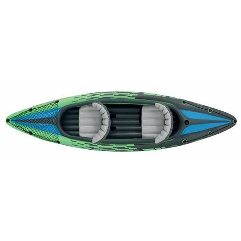 Set kayak Challenger k2 avec rame et gonfleur - L 351 x l 76 x H 38 cm - Intex - Livraison gratuite