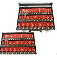 Set Kit 35 Pezzi Frese Per Legno Per Pantografo 8Mm In Valigetta Di Alluminio