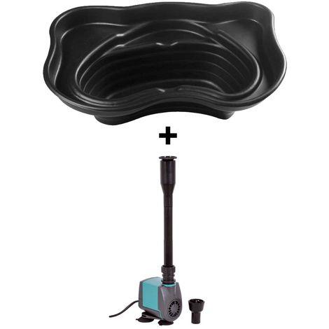 Vasche Preformate Per Laghetto.Set Laghetto Per Giardino Da 200 Lt Pompa Per Laghetto Indoor 750 Laghetto Magic