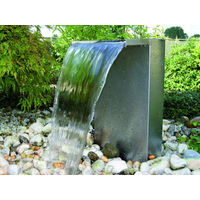 Set lame d'eau pour bassin en inox Venezia