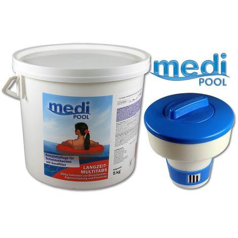 SET: Langzeit MultiTabs 200g, 5 KG und 1 x Dosierschwimmer