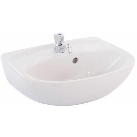 Set lavabo o.novo avec robinet simple 450 x 350 mm