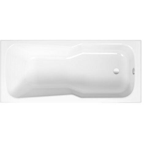Set letto vasca da bagno, 165 x 75 x 75 x 38 cm, colorazione: Bianco - 3560-000