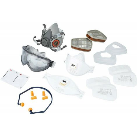 Set masque respiratioire Safety Box 1000M