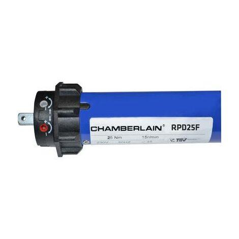 Set moteur tubulaire sans fil Chamberlain RPD25F-05 Force de traction (max.) 50 kg 191 W 15 Nm