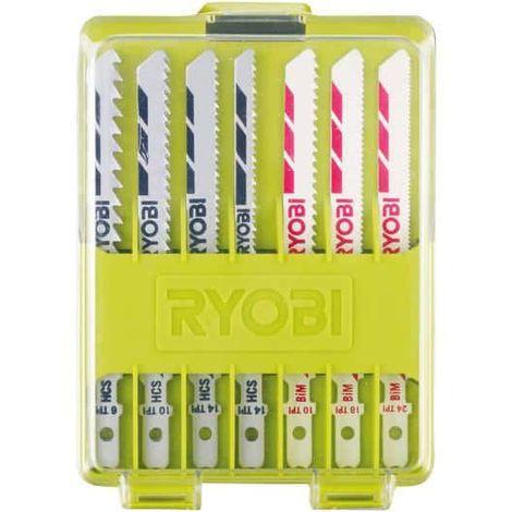 Set of 10 blades for jigsaw RYOBI 102 mm wood - plastic - bimetal RAK10JSB