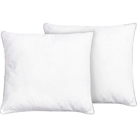 Set of 2 Bed Pillows 65 x 65 cm DIRAN