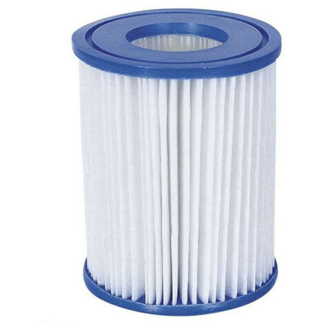 Set of 2 cartridge filters for swimming pool