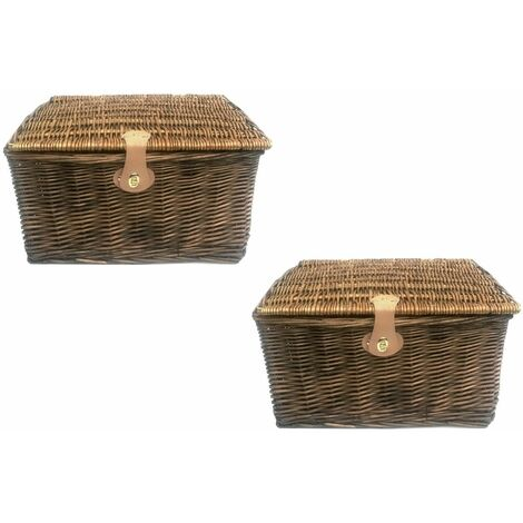 Set Of 2 Picnic Hamper
