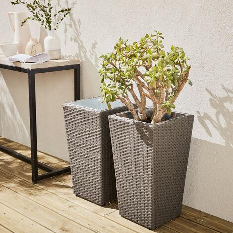Set of 2 plant pots - 60cm - Prato