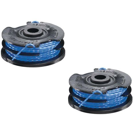 Set of 2 RYOBI 1.5mm double twisted wire reels for edgers - RAC109